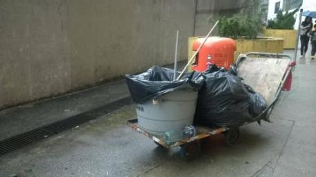 食環外判清潔工工潮快訊:一位掃街工友要掃幾大範圍?